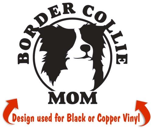 Border Collie Dog Decals & Stickers | NickerStickers