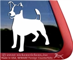 Custom Jack Russell Terrier Decals Jrt Stickers Nickerstickers