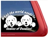Doodle Window Decal