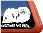 Pekingese Window Decal