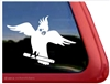 Custom Cockatiel Bird Parrot Car Truck RV Window Decal Sticker
