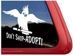 Cockatiel Window Decal