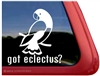 Eclectus Parrot Window Decal