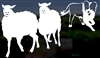 Border Collie Herding Dog Window Decal