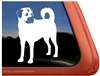 Custom Anatolian Shepherd Dog Car Truck RV Window Decal Sticker
