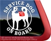 Anatolian Shepherd Service Dog Car Truck RV Window Decal Sticker