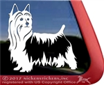 Silky Terrier Window Decal
