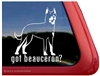 Beauceron Window Decal