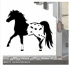 Miniature Appaloosa Horse Trailer Car Truck RV Window Decal Sticker