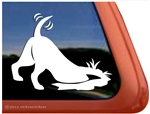 Earthdog Window Decal