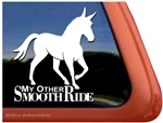 Mule Gaited Window Decal