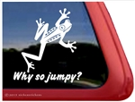 Frog Window Decal