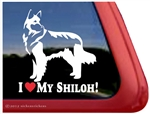 Shilo Shepherd Window Decal