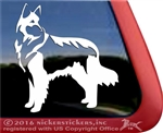 Custom Shiloh Shepherd Dog Car Truck RV Window Decal Sticker