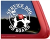 Shilo Shepherd Service Dog Car Truck RV Window Decal Sticker