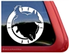 Mudi Agility Dog Window Decal