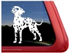 Mini Dalmatian Window Decal