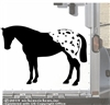 Custom Blanket Appaloosa Car Truck Trailer Window Decal Sticker