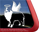 Angel Australian Shepherd Aussie Memorial Dog Car Truck RV Window Decal
