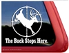 Deer Hunting Window Decal