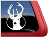 Custom Buck Deer Hunting Car Truck RV Window Decal Sticker
