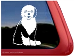 Old English Sheepdog Window Decal