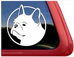 Custom French Bulldog Car Truck RV Window Decal Sticker