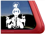 Pit Bull Window Decal