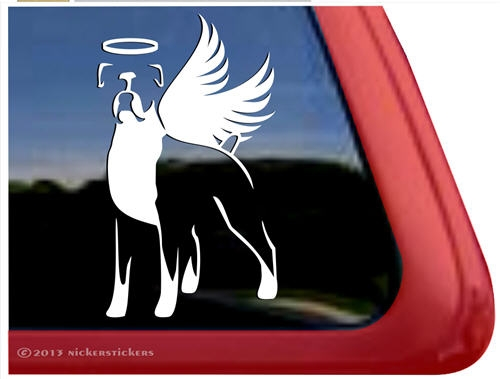 Boxer Dog Stickers Decal NickerStickers - Custom car window decals