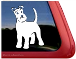 Long Tail Schnauzer Window Decal