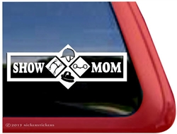 Horse Show Mom Trailer Window Decal