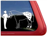 Showmanship Trailer Window Decal