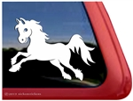 Cartoon Pony Window Decal