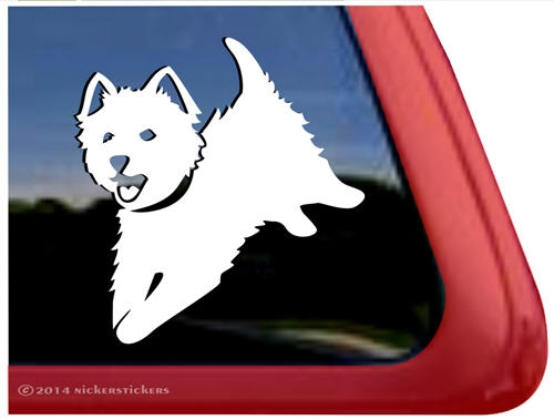 Dog car window decal sticker ipad larger photo email a friend