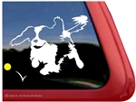 Cavalier King Charles Spaniel Dog Car Truck RV Window Decal Sticker
