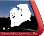 Obey the Pomeranian Dog Car Truck RV Window Decal Sticker