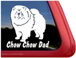 Chow Chow Hound Dog Vinyl Decal Car Auto Laptop iPad Sticker