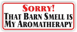 Barn Smell Bumper Sticker