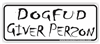 Dog Fud Bumper Sticker