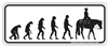 Evolution Western Bumper Sticker