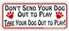 Out To Play Bumper Sticker