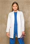 "Ladies Dickies 32"" Lab Coat"