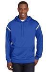 Men's Sport-Tek® Tech Fleece Colorblock Hooded Sweatshirt