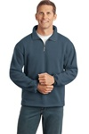 Men's Sueded Finish 1/4-Zip Sweatshirt
