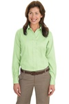 Ladies Non-Iron Twill Shirt (Long Sleeve)