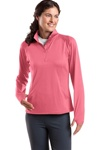 Ladies Sport-Tek - Sport-Wick Stretch 1/2-Zip Pullover