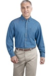 Men's Denim Shirt (Long Sleeve)