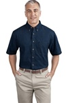 Men's Denim Shirt (Short Sleeve)