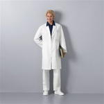 "Unisex Med-Man 40"" Twill Lab Coat"