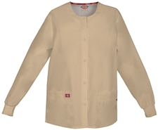 Ladies Dickies EDS Signature Missy Fit Snap Front Warm-Up Jacket